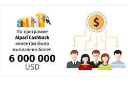 Сколько денег вернули пользователи Alpari Cashback за 3 года?