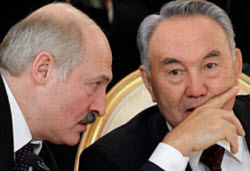 Лукашенко Назарбаев