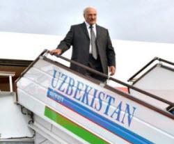 Лукашенко Узбекистан