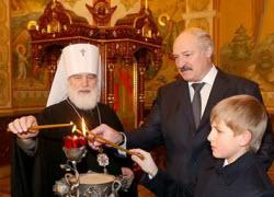 Лукашенко церковь