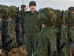 Лукашенко военные