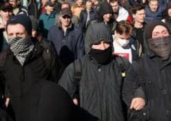 марш нетунеядцев