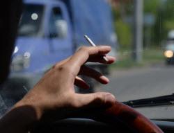 водитель курение
